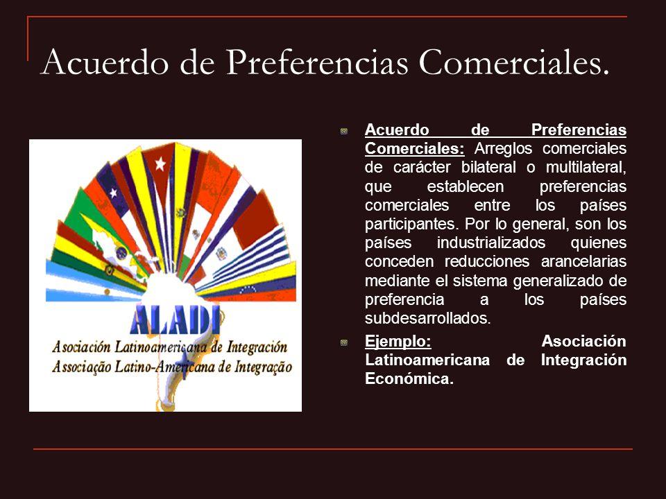 Acuerdo de Preferencias Comerciales.