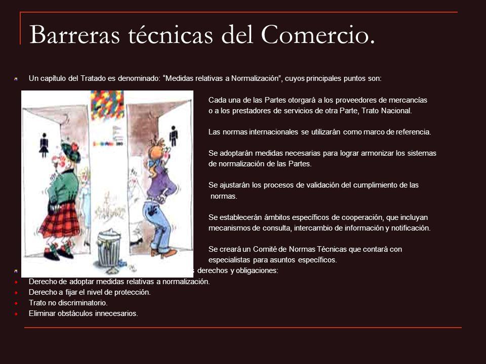 Barreras técnicas del Comercio.