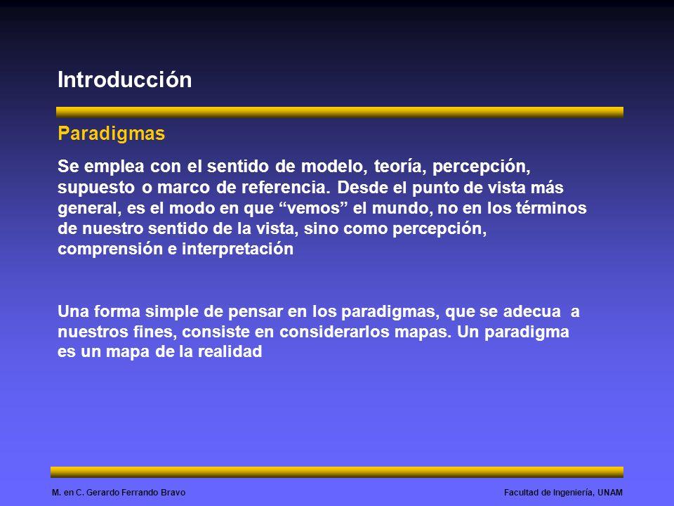 Introducción Paradigmas