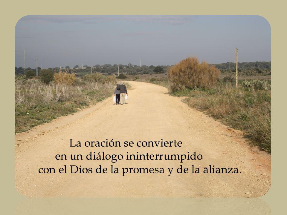 La oración se convierte