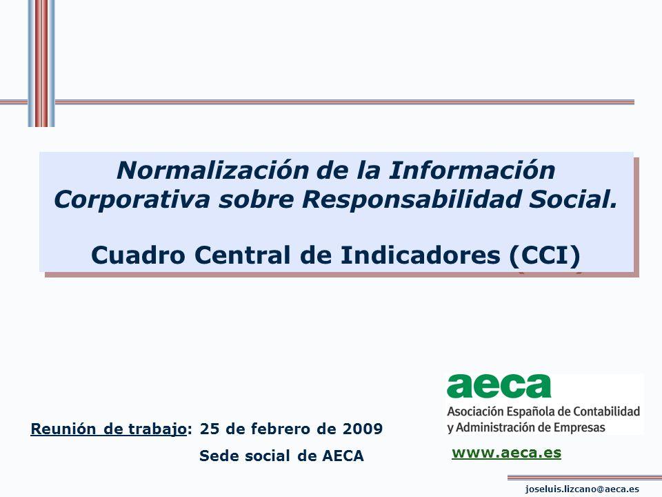 Cuadro Central de Indicadores (CCI)