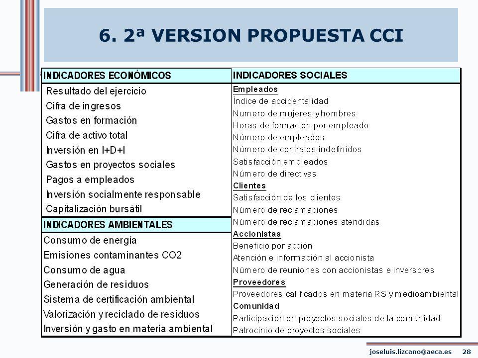 6. 2ª VERSION PROPUESTA CCI joseluis.lizcano@aeca.es 28