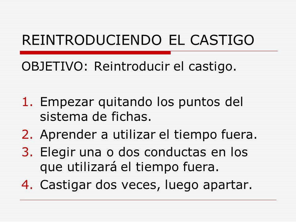 REINTRODUCIENDO EL CASTIGO