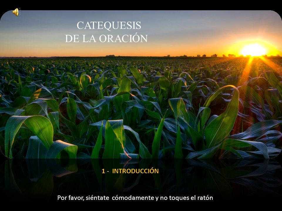 de LA ORACIÓN catequesis 1 - INTRODUCCIÓN