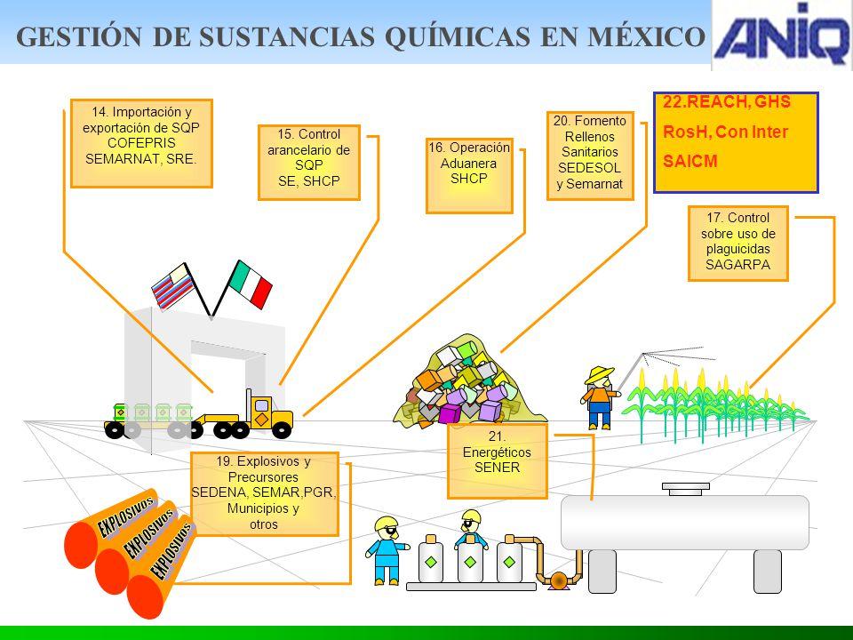 GESTIÓN DE SUSTANCIAS QUÍMICAS EN MÉXICO