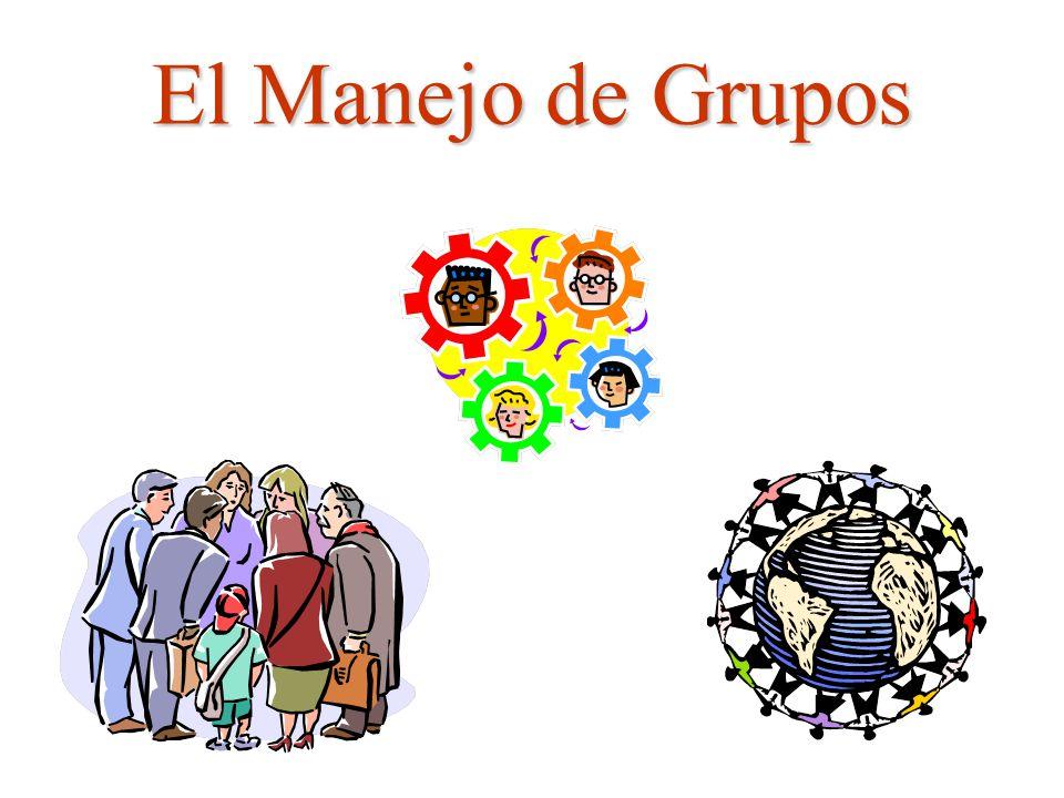 El Manejo de Grupos