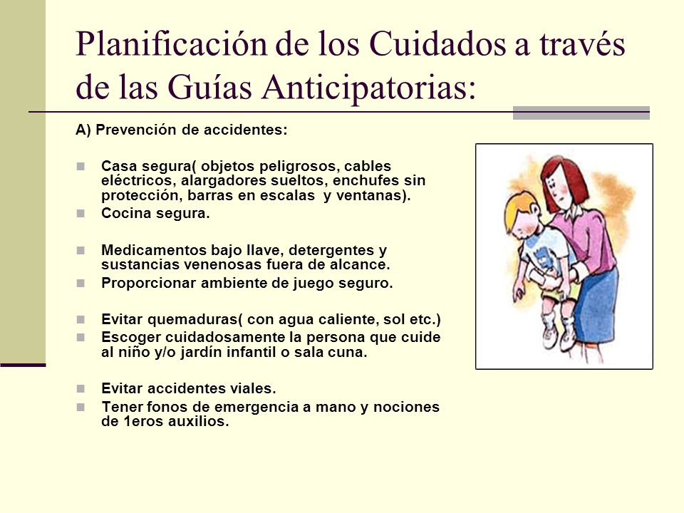 Planificación de los Cuidados a través de las Guías Anticipatorias: