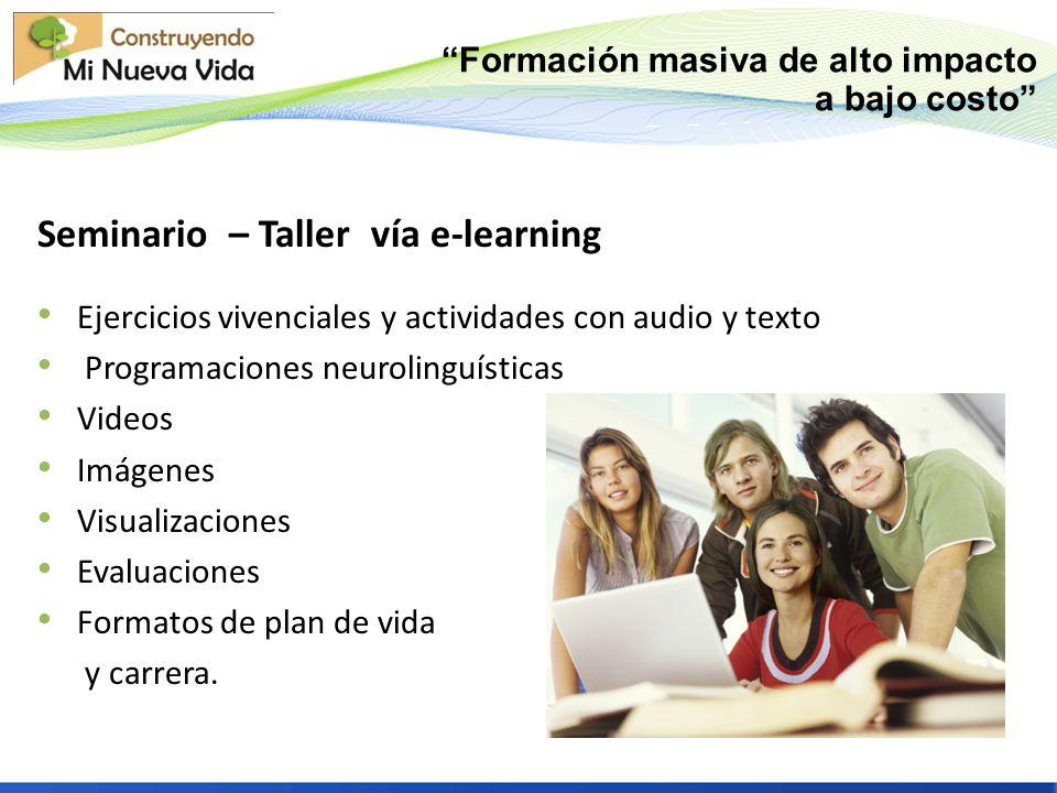Seminario – Taller vía e-learning