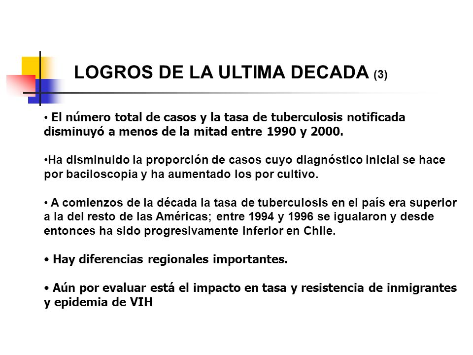 LOGROS DE LA ULTIMA DECADA (3)