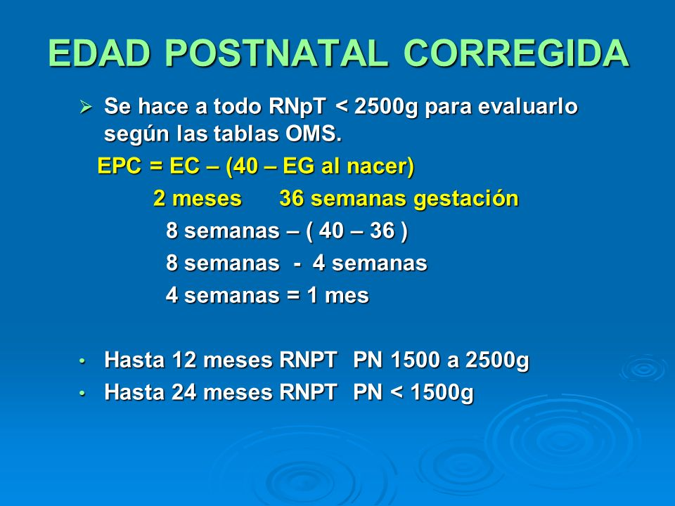EDAD POSTNATAL CORREGIDA