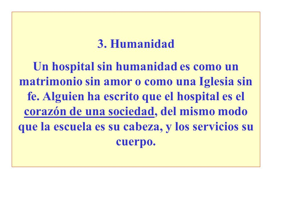 3. Humanidad