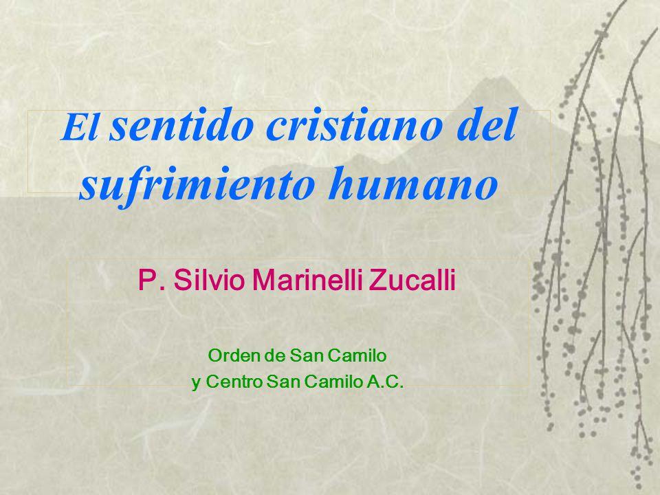 El sentido cristiano del sufrimiento humano