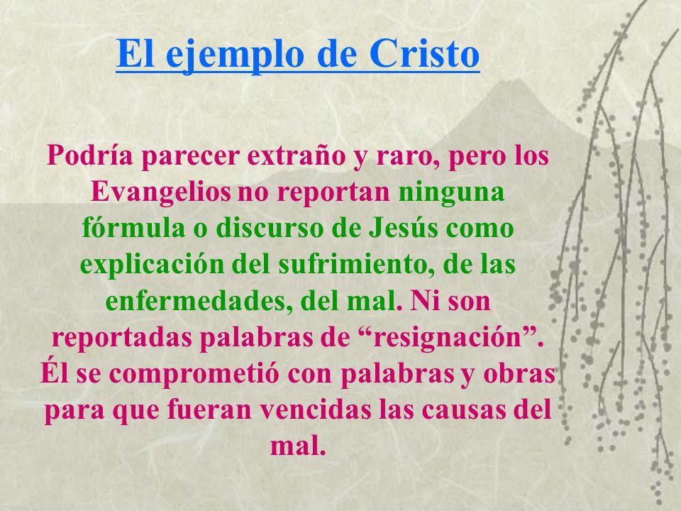 El ejemplo de Cristo