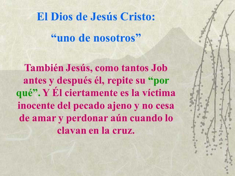El Dios de Jesús Cristo: