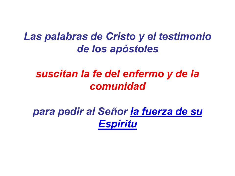 Las palabras de Cristo y el testimonio de los apóstoles