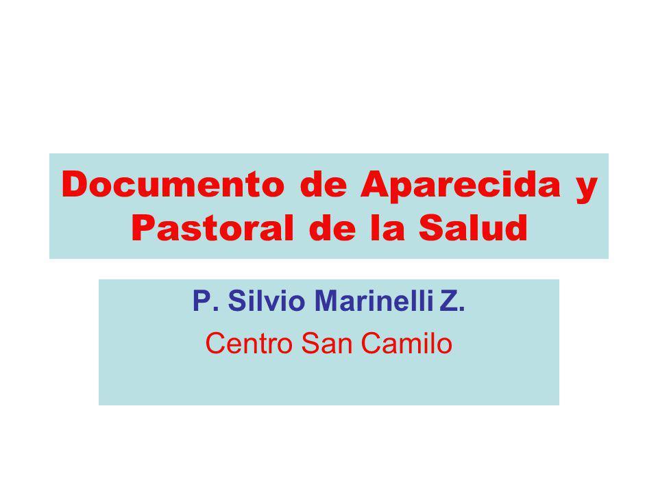 Documento de Aparecida y Pastoral de la Salud