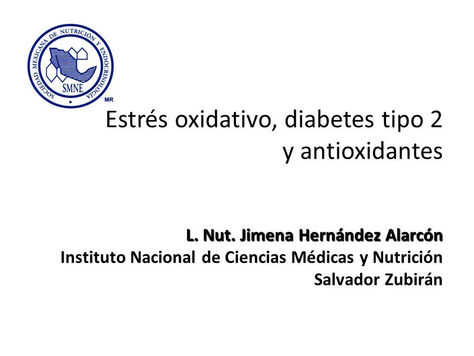 Estrés oxidativo, diabetes tipo 2 y antioxidantes
