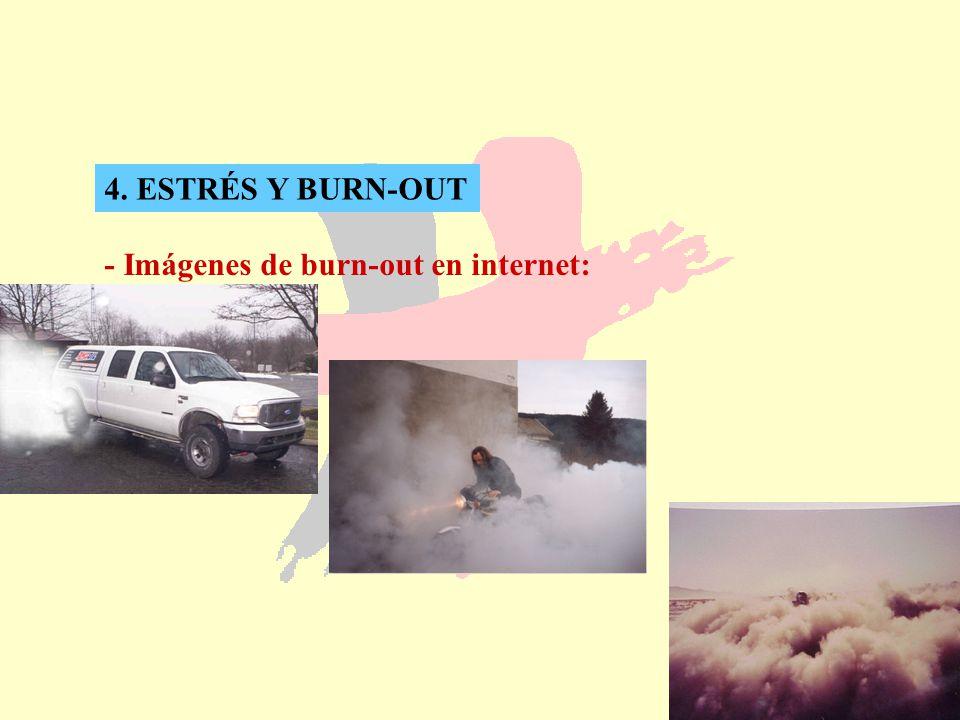 4. ESTRÉS Y BURN-OUT - Imágenes de burn-out en internet: