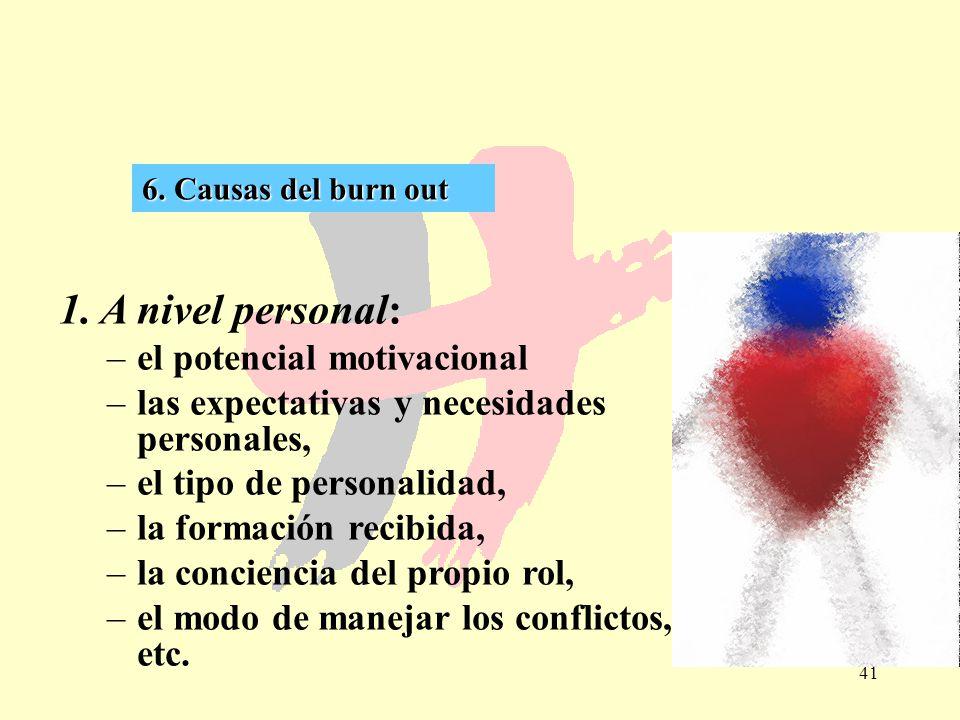 1. A nivel personal: el potencial motivacional