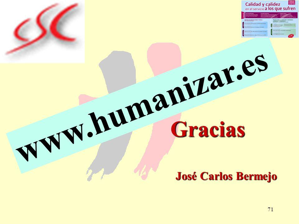 Gracias José Carlos Bermejo
