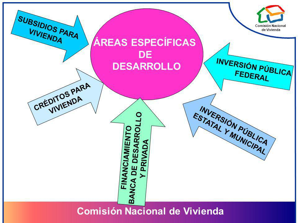 ÁREAS ESPECÍFICAS DE DESARROLLO