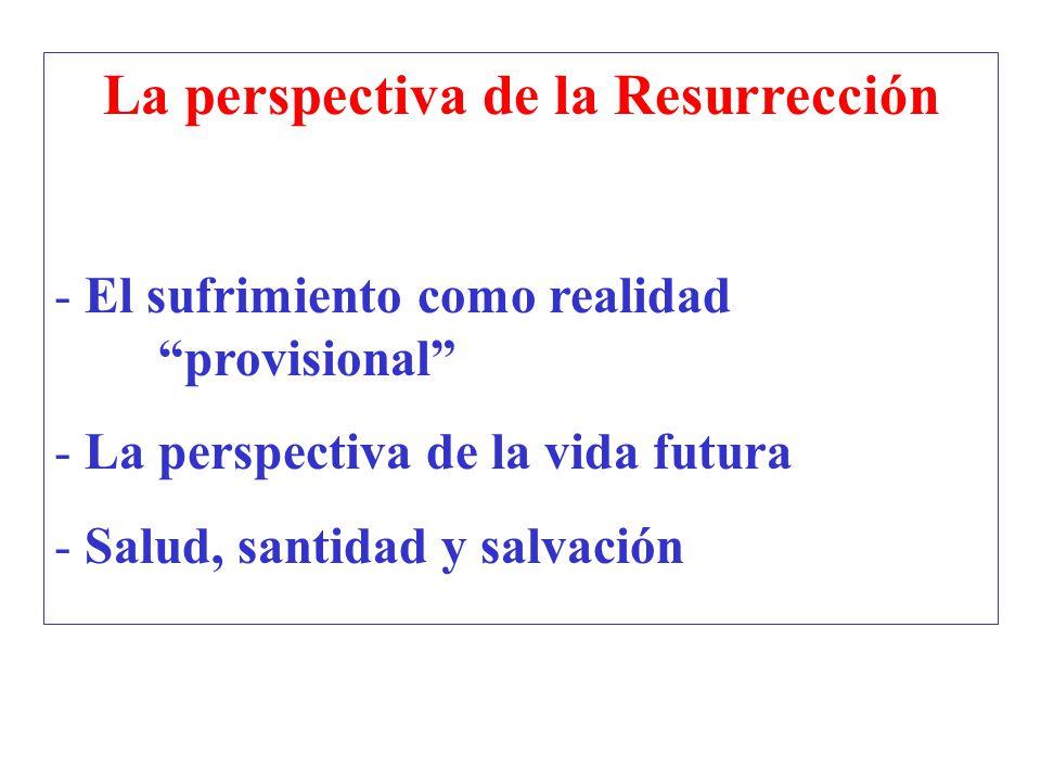 La perspectiva de la Resurrección