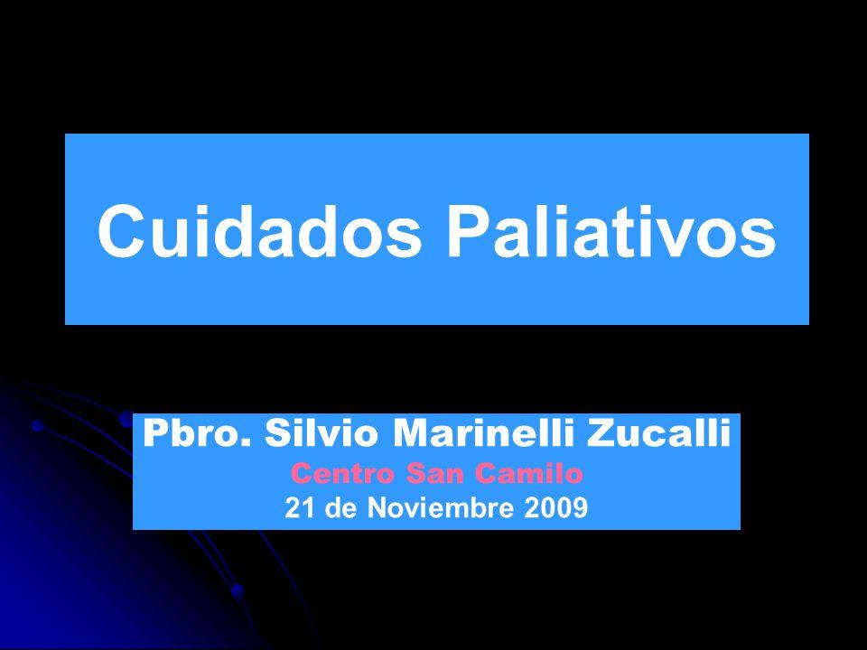 Pbro. Silvio Marinelli Zucalli Centro San Camilo 21 de Noviembre 2009