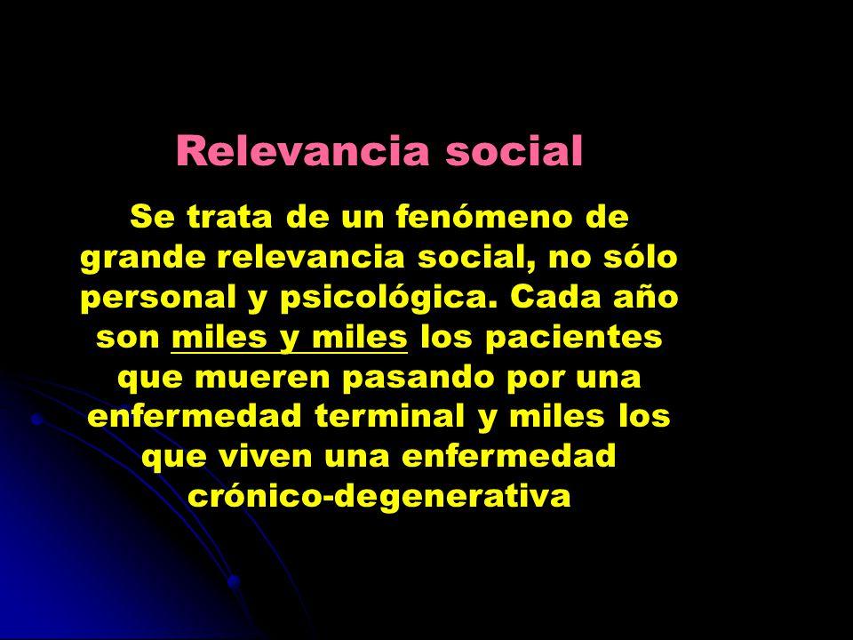 Relevancia social