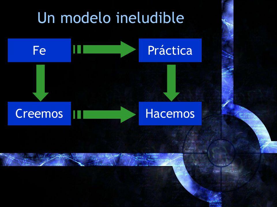 Un modelo ineludible Fe Práctica Creemos Hacemos