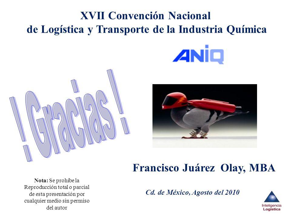 XVII Convención Nacional de Logística y Transporte de la Industria Química
