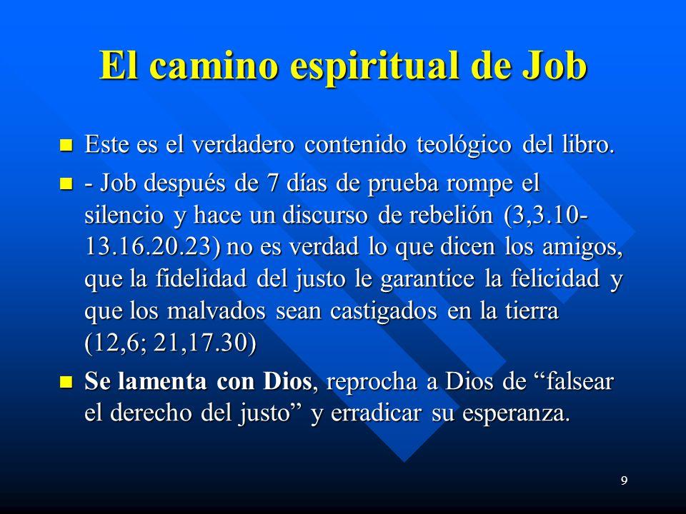 El camino espiritual de Job
