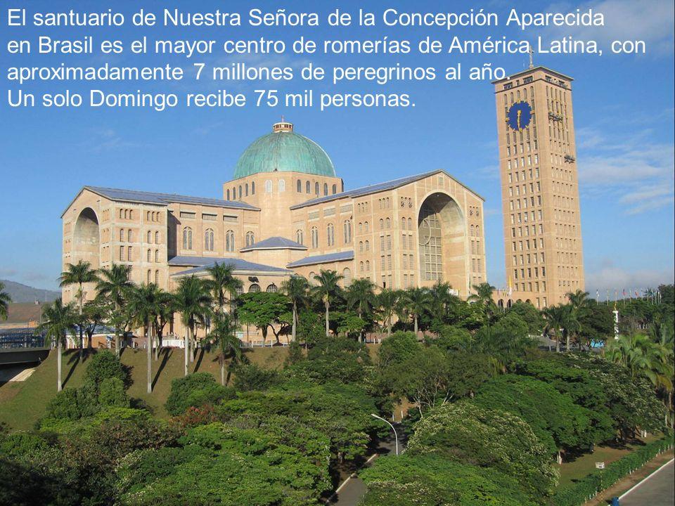 El santuario de Nuestra Señora de la Concepción Aparecida