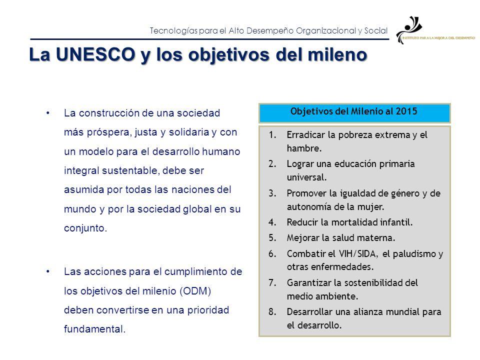 Objetivos del Milenio al 2015