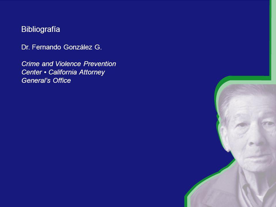 Bibliografía Dr. Fernando González G.