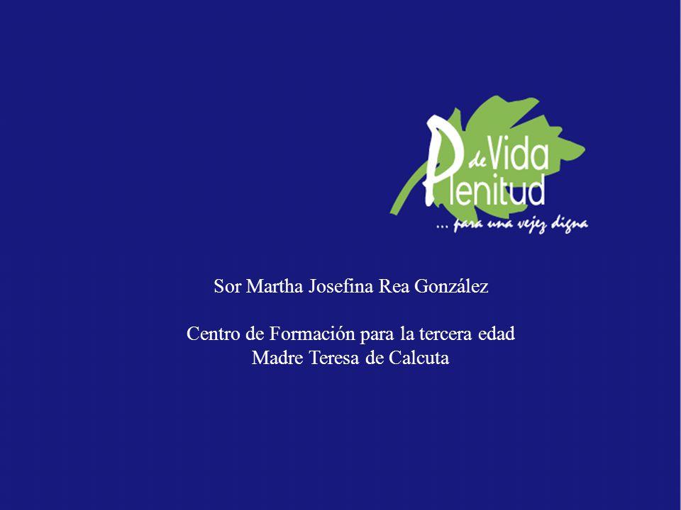 Sor Martha Josefina Rea González
