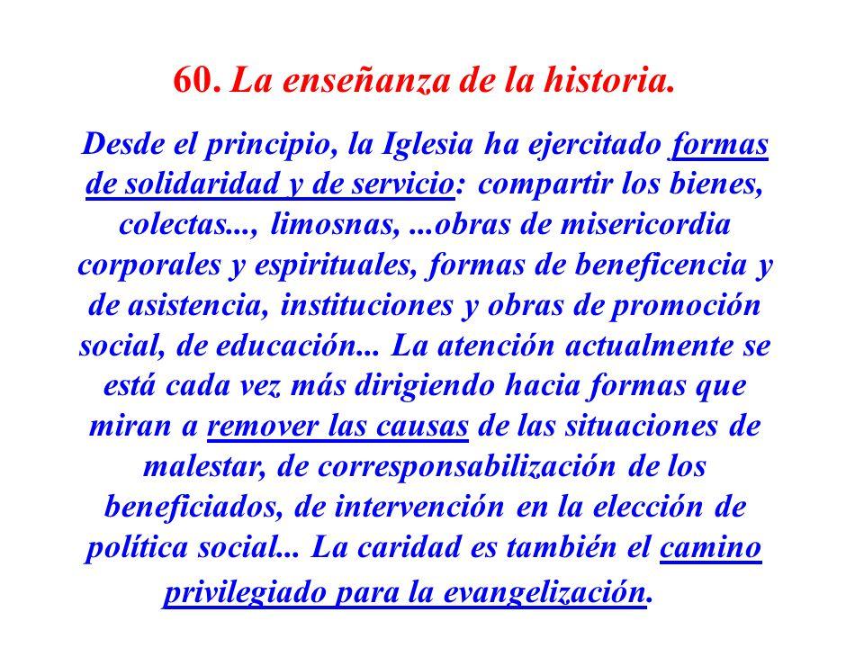 60. La enseñanza de la historia.