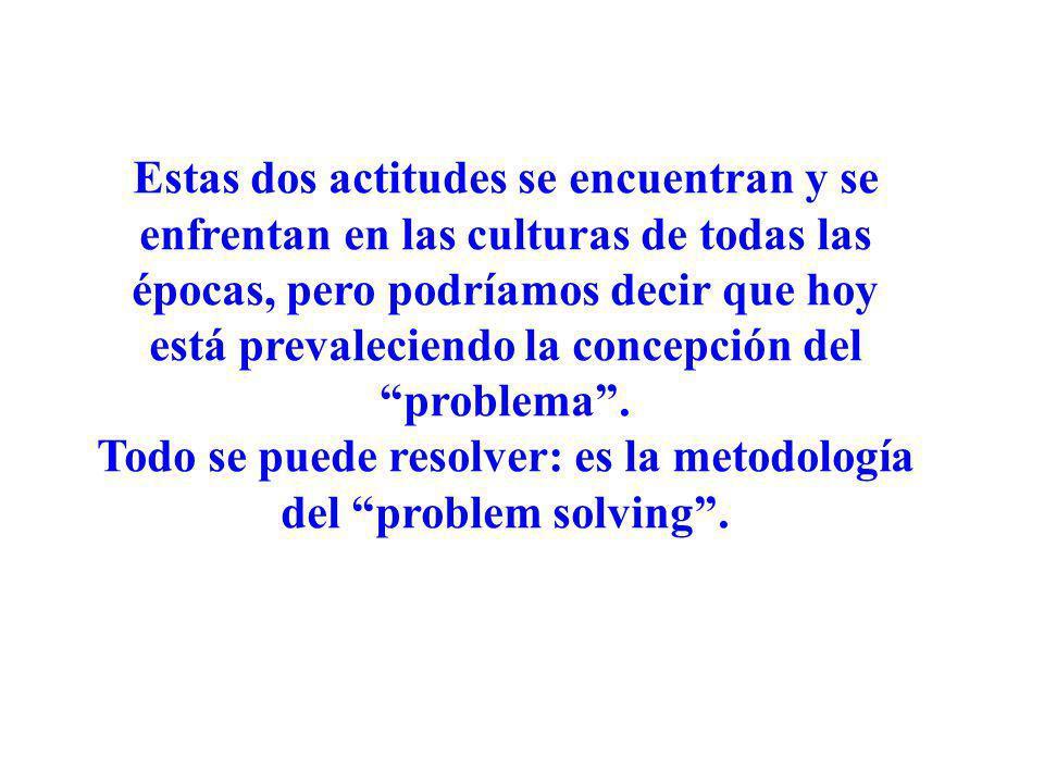 Todo se puede resolver: es la metodología del problem solving .