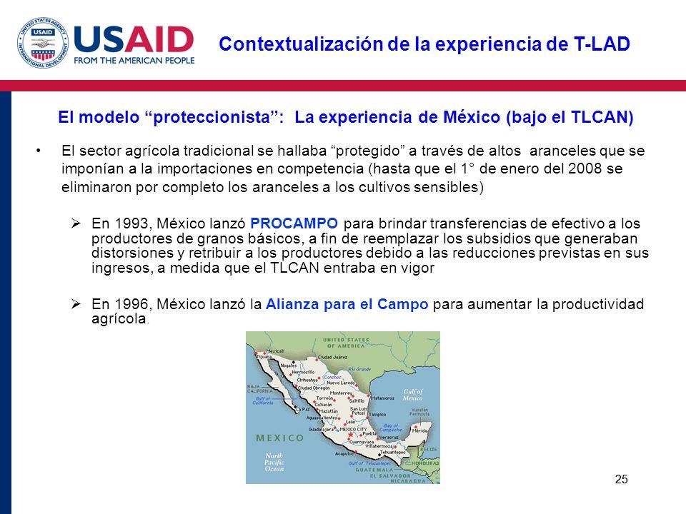 El modelo proteccionista : La experiencia de México (bajo el TLCAN)