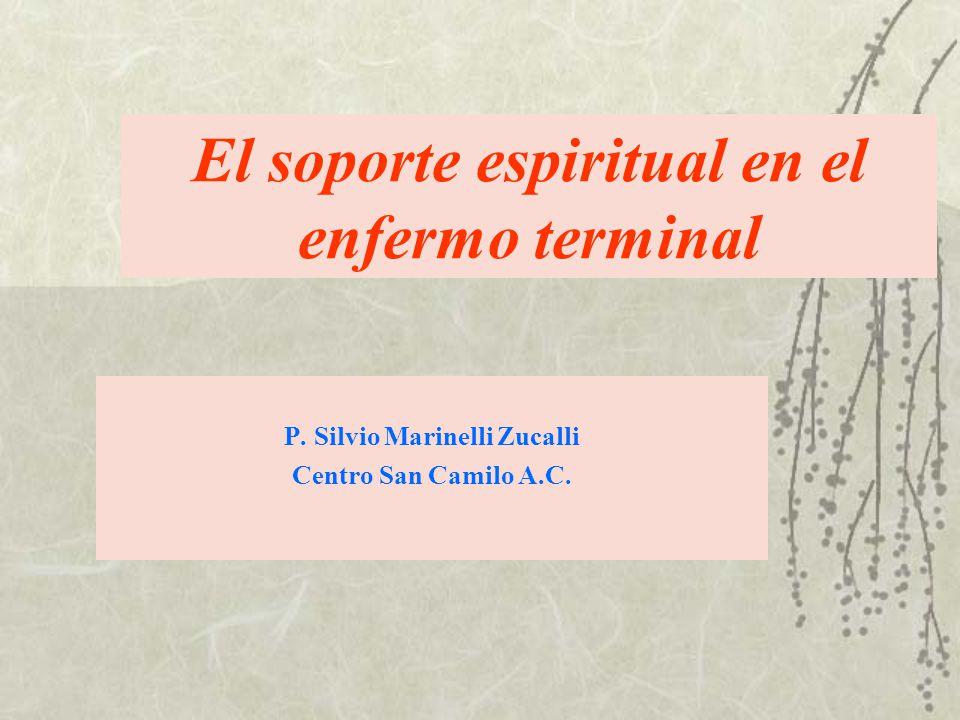 El soporte espiritual en el enfermo terminal