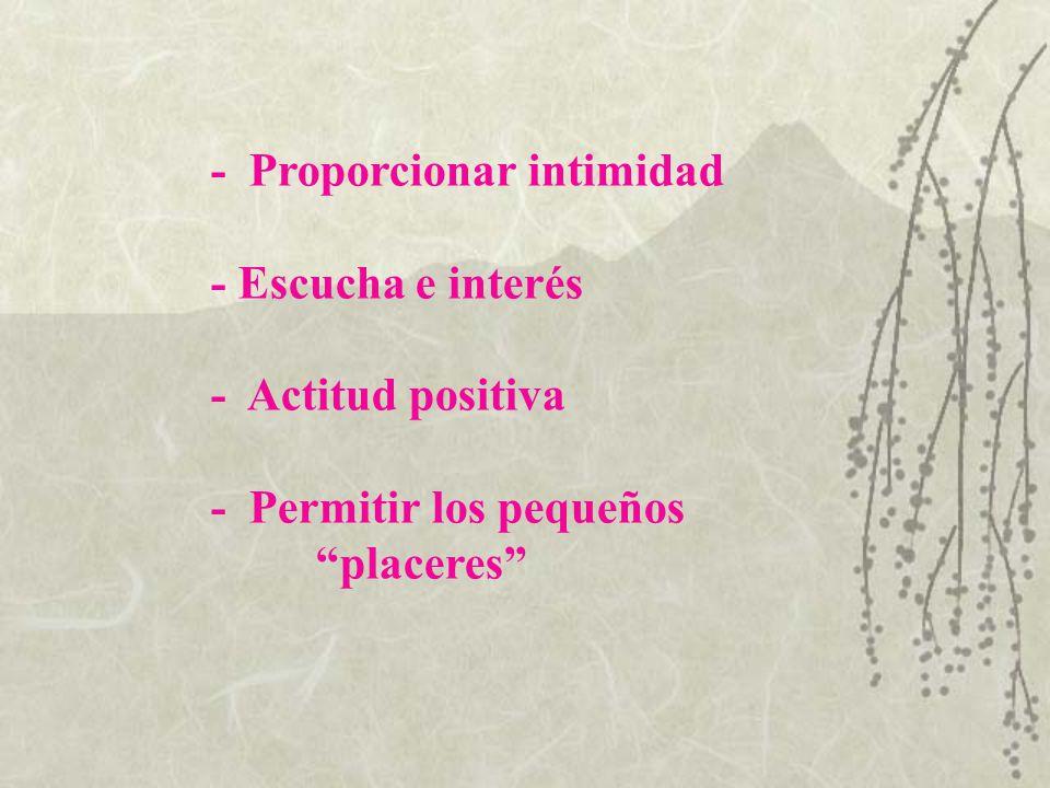 - Proporcionar intimidad