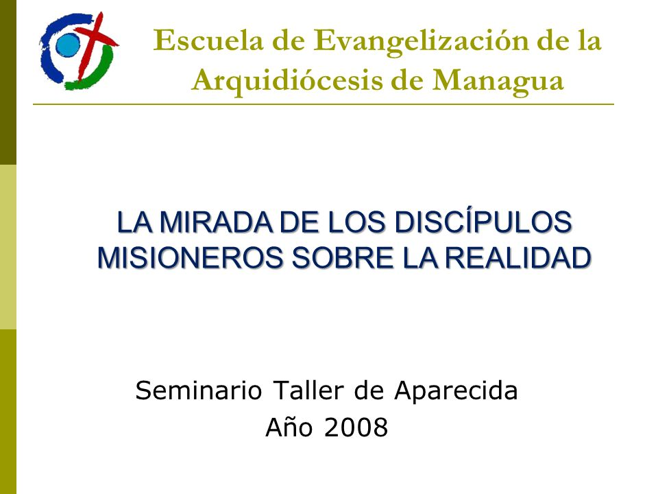 Escuela de Evangelización de la Arquidiócesis de Managua