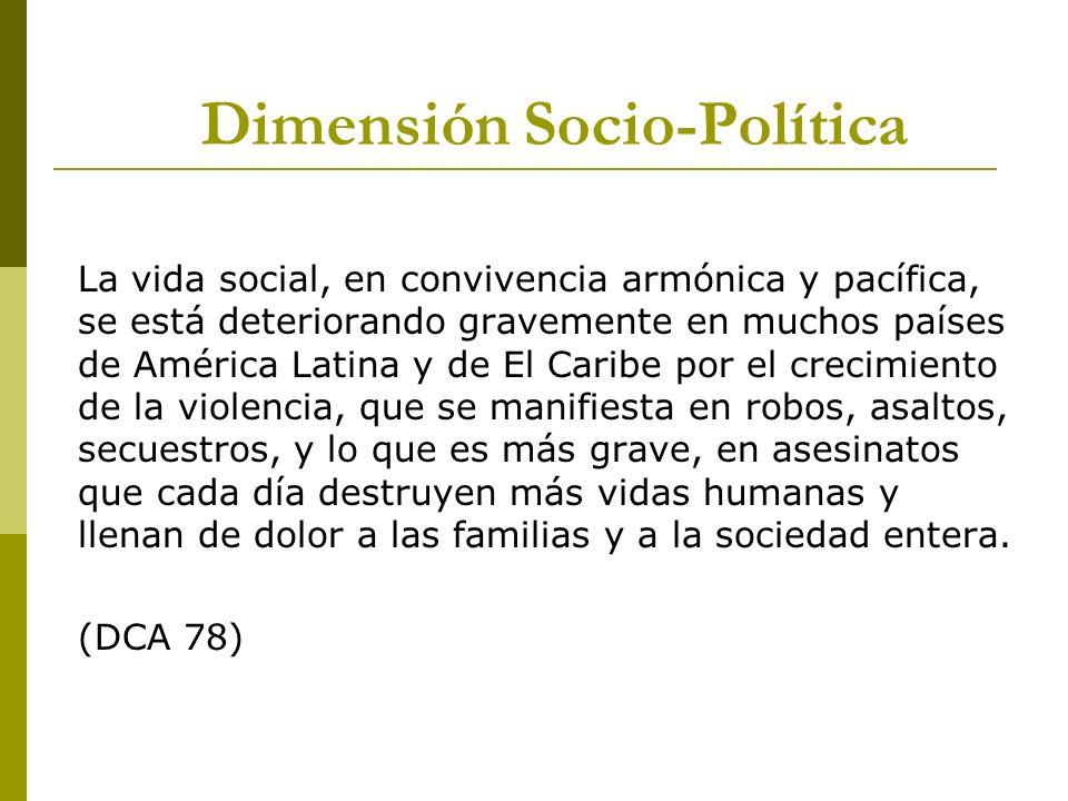 Dimensión Socio-Política