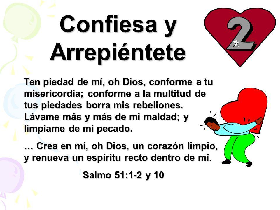 Confiesa y Arrepiéntete