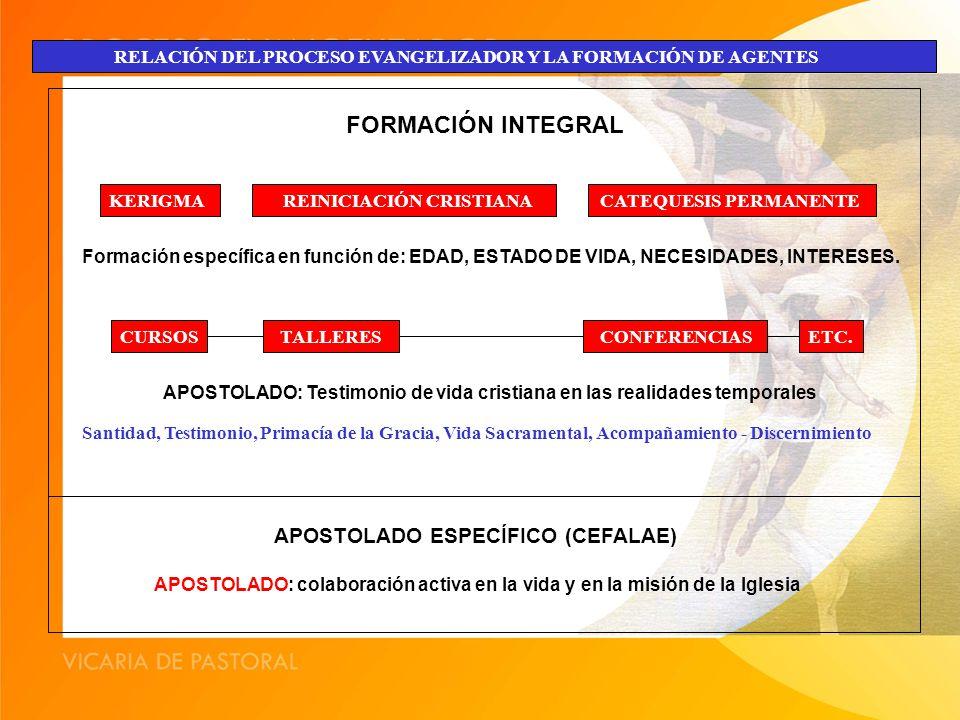 FORMACIÓN INTEGRAL APOSTOLADO ESPECÍFICO (CEFALAE)