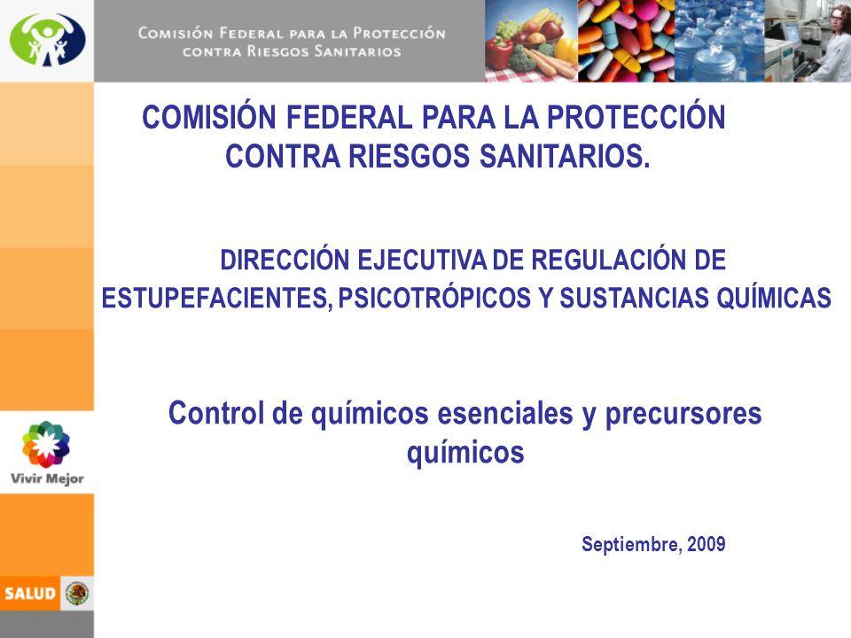 COMISIÓN FEDERAL PARA LA PROTECCIÓN