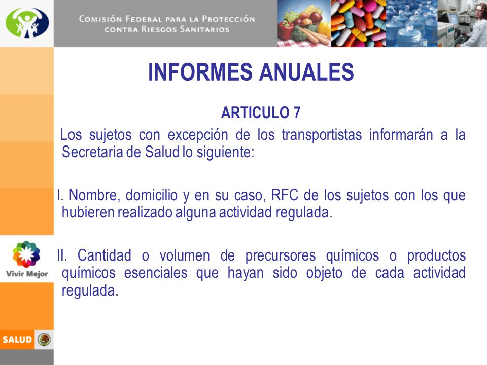 INFORMES ANUALES ARTICULO 7