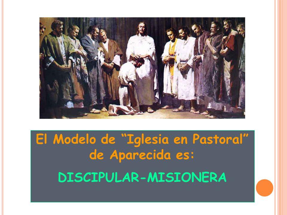 El Modelo de Iglesia en Pastoral de Aparecida es: