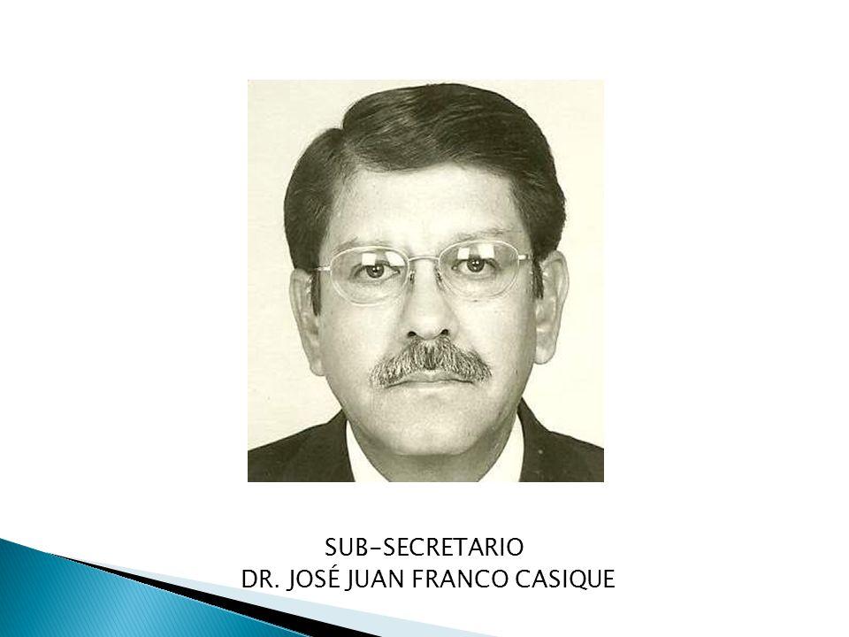 DR. JOSÉ JUAN FRANCO CASIQUE