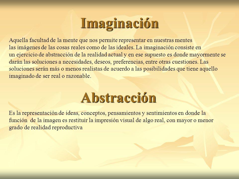 Imaginación Abstracción