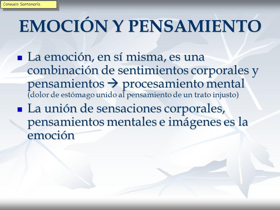 Consuelo Santamaría EMOCIÓN Y PENSAMIENTO.